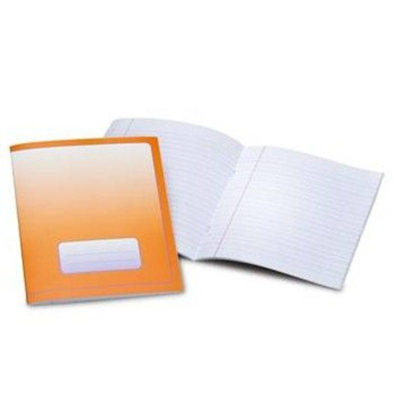Exercise book small 16x21cm- lined 6-3-6 pk of 25