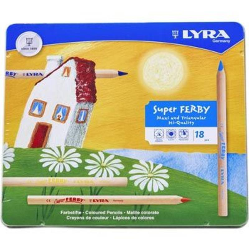 Lyra Super Ferby unlacquered 18 in a tin 3711180