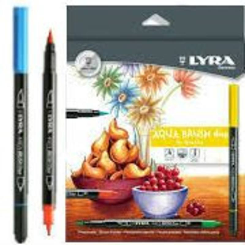 Lyra Aqua Brush Duo 24 pk