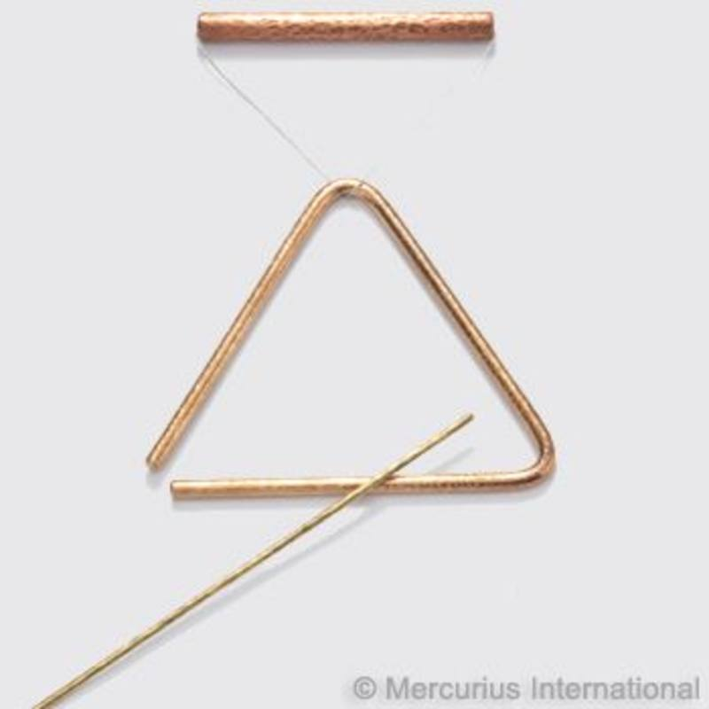TBDChoroi BronzeTriangle Set 37cm (inc haning copper handle + striker) SPECIAL ORDER