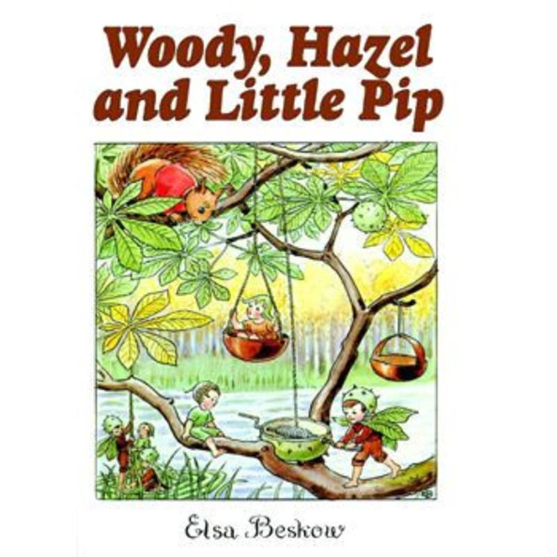 Woody Hazel and Little Pip - by Elsa Beskow SPECIAL ORDER