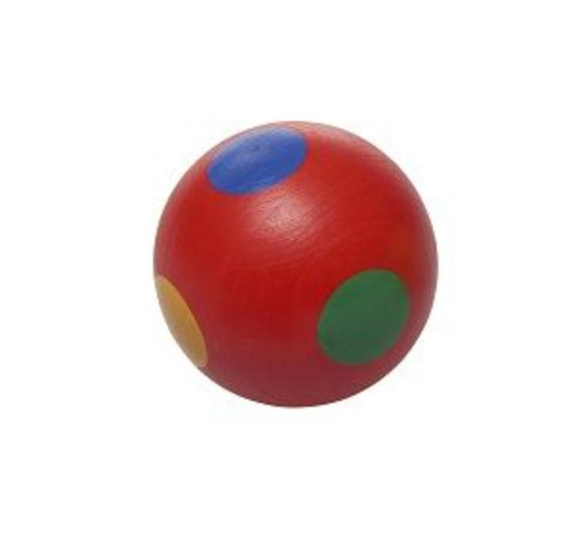 Red spotted ball for Cubio Ball Run DD SAVE 40%