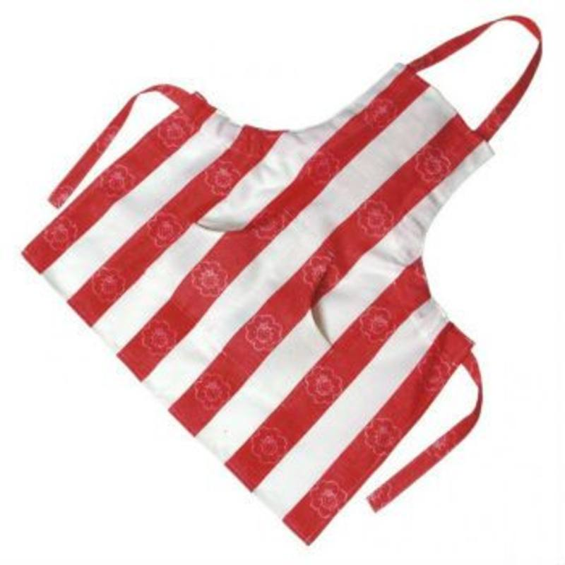 Gluckskafer Red and White Childrens Apron