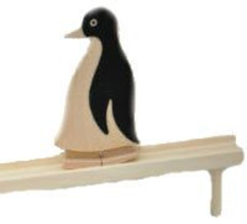 Grunspecht Walking Penguin w Track