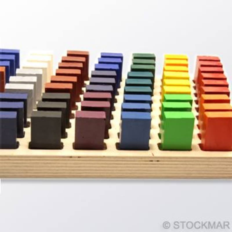 EMPTY Stockmar Block Crayon Display Stand. Loan only - preapproval required. SPECIAL ORDER