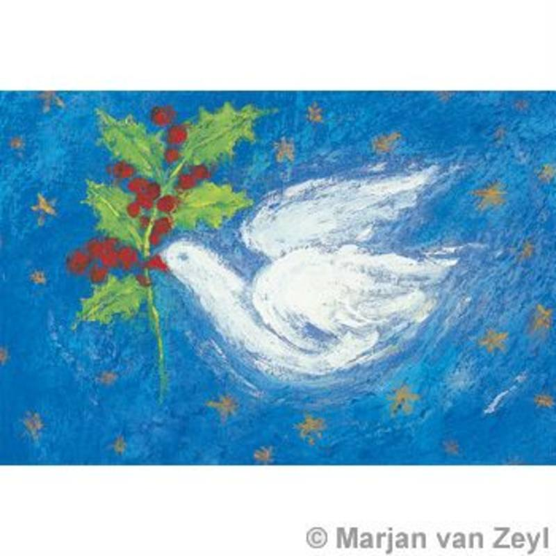 Postcards- Dove of Peace 5 pk