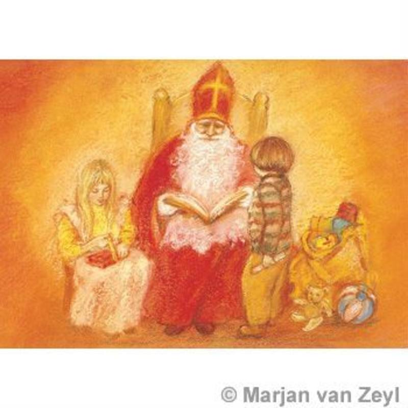 Postcards- St Nicolas Eve SPECIAL ORDER 5 pk