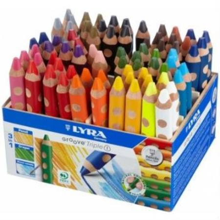 Buy Lyra Groove TripleOne- 72 Assorted Pencils in Display SPECIAL ORDER in Australia.