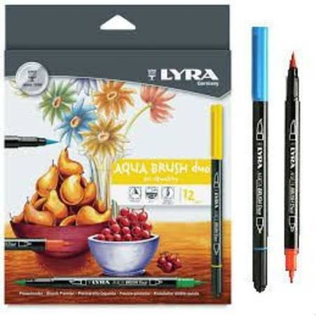 Buy Lyra Aqua Brush Duo - 12 pk in Australia.