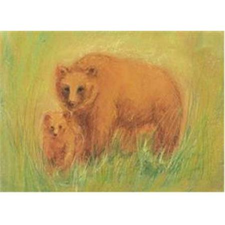 Buy Postcards- Bear and Cubs 5 pk SPECIAL ORDER in Australia.