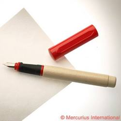 Buy Greenfield Wooden Calligraphy Pen - Wide 1.9mm -Red cap in AU Australia.