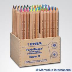 Buy Lyra Colour Giants - Unlacquered 96 pencils 3932960 in AU Australia.