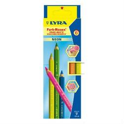 Buy Lyra Colour Giants lacquered 6 neon pencils SAVE 30% in AU Australia.
