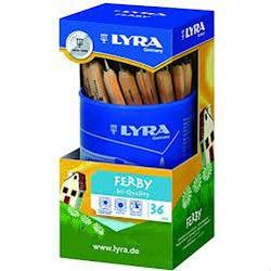 Buy Lyra Ferby Short graphite pencils unlacquered cup 36 1813360 SPECIAL ORDER in AU Australia.
