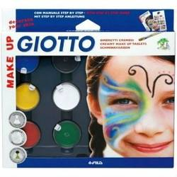 Buy Giotto Creamy Make Up Tablets Basic 6 colours SPECIAL ORDER in AU Australia.