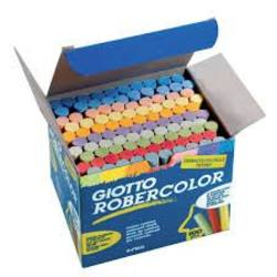 Buy Giotto Robercolor Dustless Blackboard Chalk - 100pc Assorted Colours SPECIAL ORDER TBD in AU Australia.