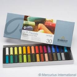 Buy Royal Talens Rembrandt Soft Pastels 30 Small Sticks Assorted SPECIAL ORDER in AU Australia.
