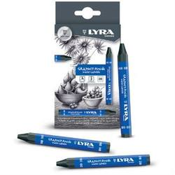 Buy Lyra Thick Graphite Crayons Water-Soluble 3 sizes box of 12 in AU Australia.