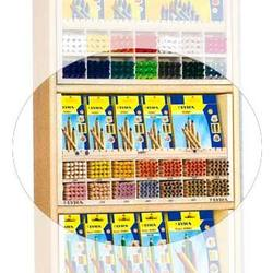 Buy EMPTY Wooden display for Lyra Thick Pencils 14 holes each fit 24 pencils + Open top display. in AU Australia.