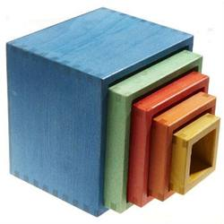 Buy Square Nesting Boxes 13.5x13.5x12cm 5 parts plant-based dyes SPECIAL ORDER in AU Australia.