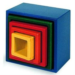 Buy Nesting Blocks that Stack - Square - 5 pieces 13.5x13.5x12cm SPECIAL ORDER in AU Australia.