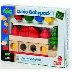 Buy Cubio Baby 1 Wooden Blocks 20 pcs in AU Australia.