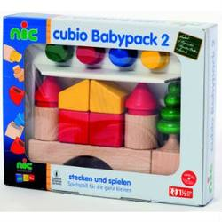 Buy Cubio Baby 2 Wooden Blocks 19 pcs in AU Australia.