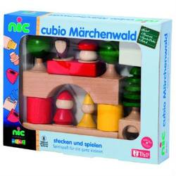 Buy Cubio Fairytale World Wooden Blocks 17 pcs in AU Australia.