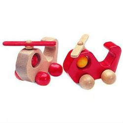 Buy Wooden Helicopter Red or Natural 15cm SPECIAL ORDER in AU Australia.