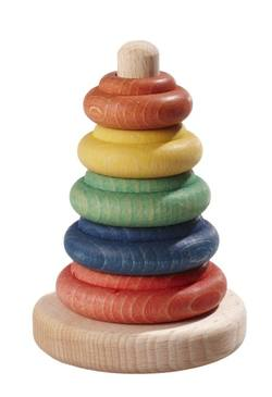 Buy Classic Stacking Toy 8x12 cm plant-based dyes in AU Australia.
