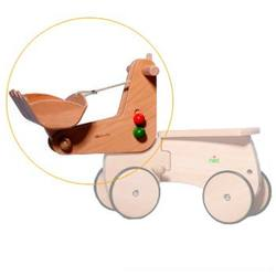 Buy Wooden Ride On CombiCar - Excavator Complete SPECIAL ORDER in AU Australia.