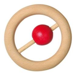 Buy Wooden rattle 8cm ring w ball SPECIAL ORDER in AU Australia.