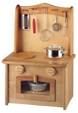 Buy Childrens Wooden Kitchen - Stove Top Oven + Concealed Sink in AU Australia.