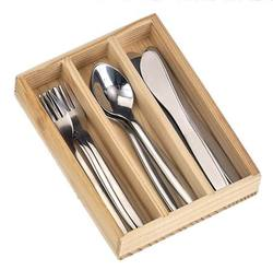 Buy 10cm Cutlery stainless steel 4 sets knife fork spoon  in wooden box in AU Australia.