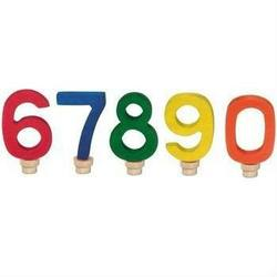 Buy Gluckskafer Wooden Birthday Numbers Set 6 7 8 9 0 (5 pcs) in AU Australia.