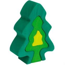 Buy Wooden Puzzle Blocks - Fir tree 6 elements 18cm high in AU Australia.