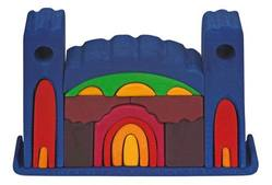 Buy Gluckskafer Wooden Blocks - Castle 27 x7 x18cm in AU Australia.