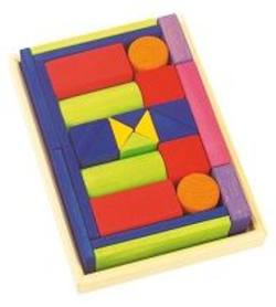 Buy Wooden Block Puzzle - Provence small w tray 27 parts SO in AU Australia.