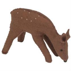 Buy Deer Handmade w Wool Felt 10 cm in AU Australia.