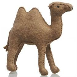 Buy Camel Large Handmade w Wool Felt 14cm in AU Australia.