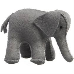 Buy Elephant Handmade w Wool Felt Large 7.5cm in AU Australia.