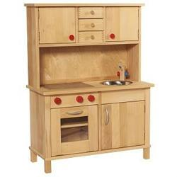 Buy Gluckskafer Childrens Wooden Kitchen w Upper Cupboard in AU Australia.