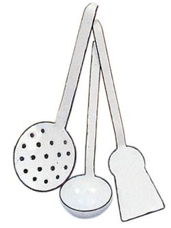 Buy Enamel cooking set 3 utensils in AU Australia.