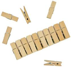 Buy Mini Wooden Clothes Pegs (10 pk) in AU Australia.