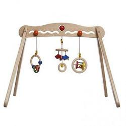 Buy Walter Wooden Baby Play Gym w 3 Hanging Toys in AU Australia.