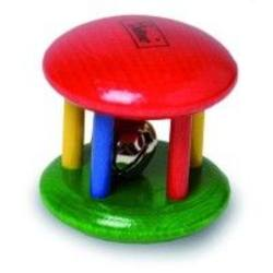 Buy Walter Cage Rattle w Bell Primary Colour SO SAVE 40% in AU Australia.
