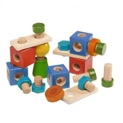 Buy Walter Mix of Wooden Nuts and Screws 24 pcs COMING SOON in AU Australia.