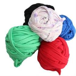 Buy Recycled Cotton T-shirt Weaving + Knitting Balls 1kg Assorted Colours SAVE 30% in AU Australia.