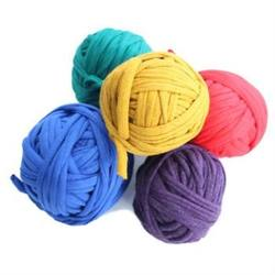 Buy Recycled Cotton T-Shirt Yarn 5x25mtrs Primary Colours in AU Australia.