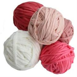 Buy Recycled Cotton T-Shirt Yarn 5x25mtrs Pastel Colours in AU Australia.